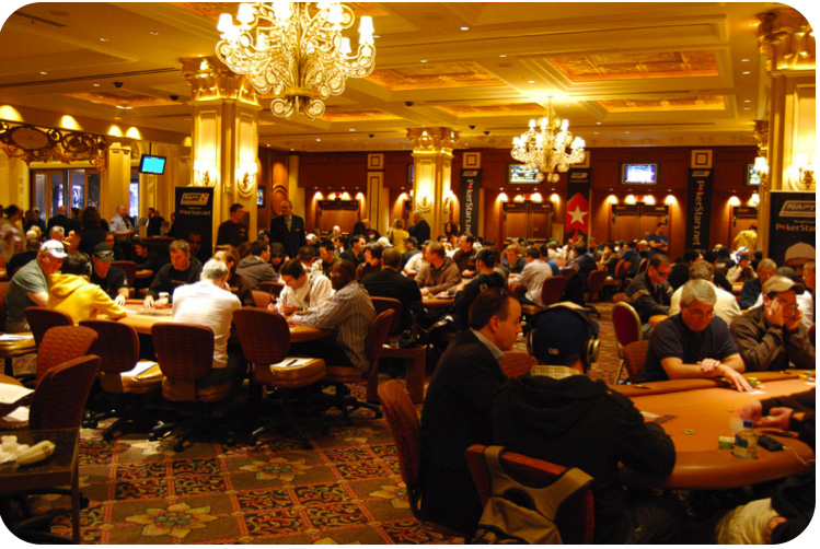 C'est la bulle, les joueurs sont crispés et jouent un poker serré