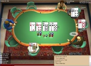 c'est quoi abattage au poker