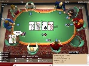 c'est quoi all-in au poker