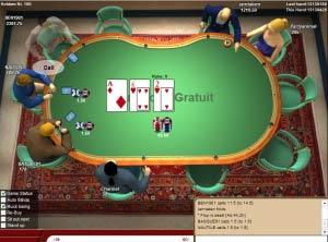 c'est quoi des cartes assorties au poker