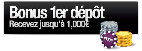 1000 euros de bonus