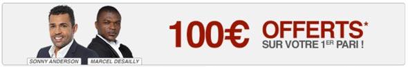 bonus 100 euros pour parier sur betclic