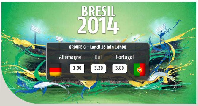 bannière pmu.fr coupe du monde 2014