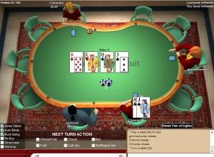 c'est quoi cartes fermées au poker