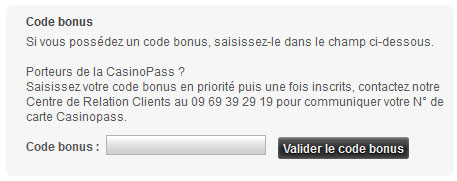 valider le code
