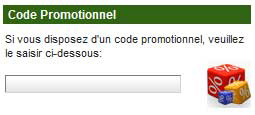 saisir le code promo sur unibet.fr