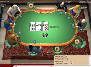 c'est quoi le flop au poker