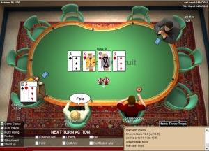 c'est quoi fold au poker
