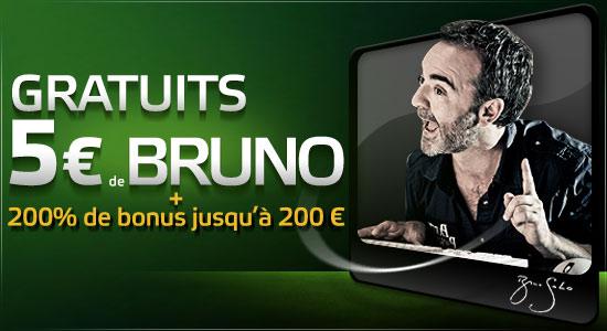 party poker 5€ gratuit