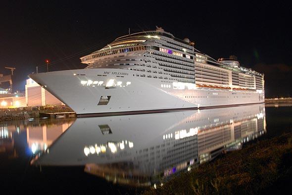 kapal msc splendida