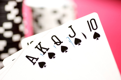 une quinte flush royale