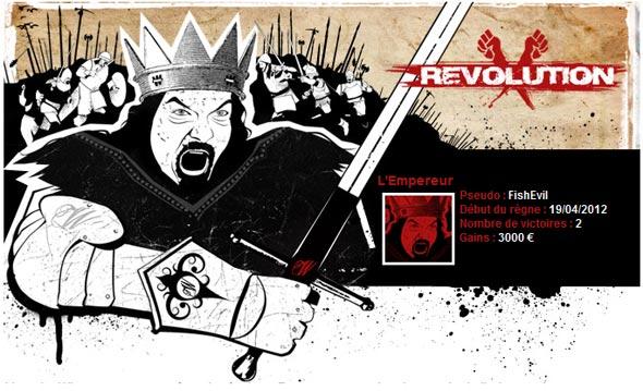 révolution de l'empereur