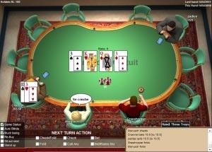 c'est quoi se coucher au poker