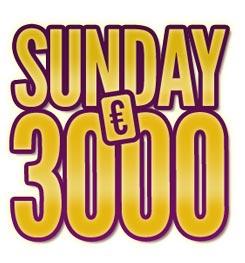 sunday 3000 sur sajoo poker
