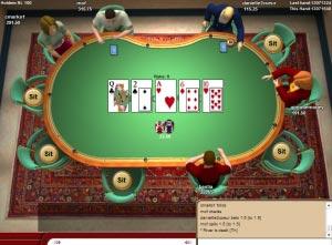 c'est quoi le tableau au poker