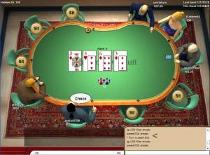 c'est quoi tournant au poker